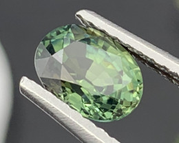 AAA Quality Greenish Blue Color Natural Sapphire Unheated/Untreated 2.02 Ct