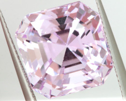 16.10CTS- CERTIFIED KUNZITE FACETED GEMSTONE  TBM-2155