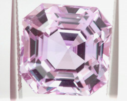 18.35 CTS- CERTIFIED KUNZITE FACETED GEMSTONE  TBM-2157