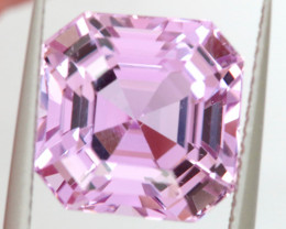 8.78 CTS- CERTIFIED KUNZITE FACETED GEMSTONE  TBM-2158