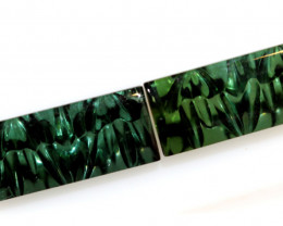 5-CTS  TOURMALINE   CARVED  PAIR PG-3255