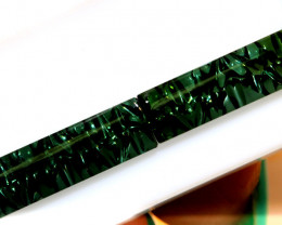 6.25 -CTS  TOURMALINE   CARVED  PAIR PG-3260