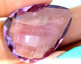 25.95- CTS AMETHYST FACETED STONE CG-2851