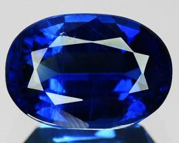 1.04 Cts Natural Royal Blue Kyanite 7x5mm Oval Cut Nepal