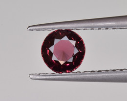 Natural Rhodolite Garnet 0.88 Cts, Top Luster