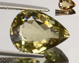 5.50 Cts Natural Rarest Color Change Diaspore Pear Cut Turkey