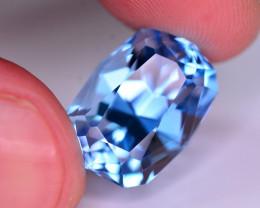 Stunning 18.25 Ct Natural Blue Topaz Gemstone