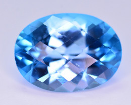 Stunning 14 Ct Natural Blue Topaz Gemstone