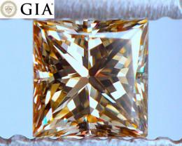 EYE-CLEAN! GIA! Fancy Golden Yellow Diamond | FREE INSURED SHIPPING!