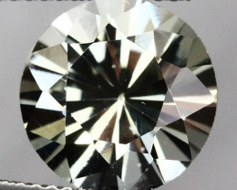 5.33CT 11X11MM EXCELLENT CUT !! TOP QUALITY NATURAL SILLIMANITE - SL90