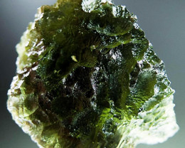Shiny Moldavite 100% REAL quality A+ with CERTIFICATE