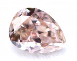 Argyle Pink Diamond 3.90mm Genuine Australian Pink Diamond B1935