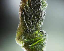Big Natural Raw Moldavite CERTIFIED