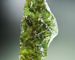 Certified Glossy Authentic Moldavite quality A+