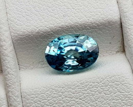 1.85Crt Blue Zircon Natural Gemstones JI73