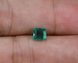1.05ct Lab Certified Zambian Emerald