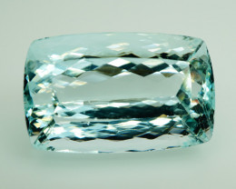 Unheated - 32.09  ct Natural Blue Aquamarine – IGI Certificate