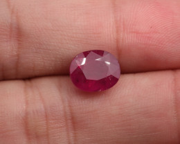 **No Reserve** 3.78ct Natural Ruby