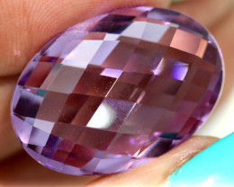 25.80- CTS AMETHYST FACETED STONE CG-2856