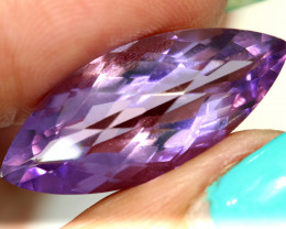 11.40- CTS AMETHYST FACETED STONE CG-2861