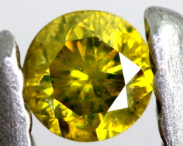 0.10- CTS  YELLOW  DIAMOND  FACETED SD-392