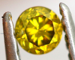 0.07- CTS  YELLOW  DIAMOND  FACETED SD-394