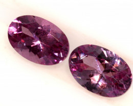 1.16-CTS-Pinkish Purple Spinel Pair  CG-2864