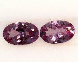 1-CTS-Pinkish Purple Spinel Pair  CG-2865