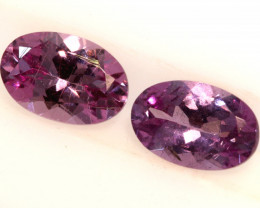 1-CTS-Pinkish Purple Spinel Pair  CG-2867