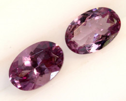 1.05 -CTS-Pinkish Purple Spinel Pair  CG-2872