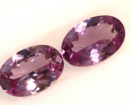 1.07-CTS-Pinkish Purple Spinel Pair  CG-2873