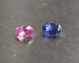 0.98ct clean and brilliant natural sapphire