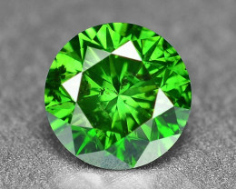 0.33 Cts  Sparkling Rare Fancy Intense Green Color Natural Loose Diamond