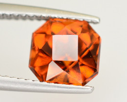 Top Color 3.30 Ct Natural Hessonite Garnet