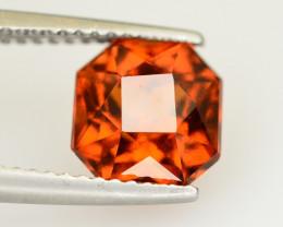 Top Color 2.85 Ct Natural Hessonite Garnet