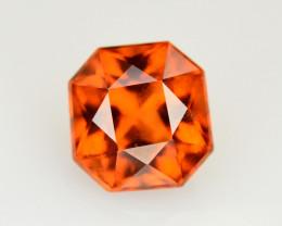 Top Color 3.30 Ct Natural Hessonite Garnet