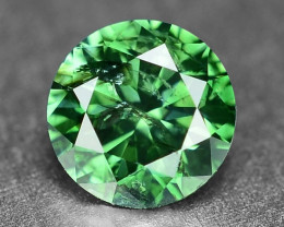 0.31 Cts Sparkling Rare Fancy Intense Green Color Natural Loose Diamond