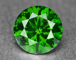 0.30 Cts Sparkling Rare Fancy Intense Green Color Natural Loose Diamond