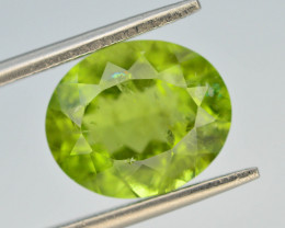 5.50 Ct Untreated Green Peridot