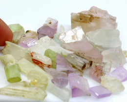 475.95 CT Natural - Unheated Multi Kunzite Rough lot