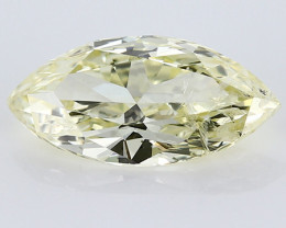 1.45 ct Marquise Diamond: Fancy Light Yellow