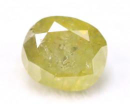 Green Diamond 0.49Ct Natural Untreated Fancy Color Diamond B2125