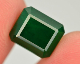 Top Quility 4.65 ct Natural Vivid Green Color Emerald~Swat
