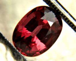 3.06 Carat VVS Raspberry Rhodolite Garnet - Gorgeous