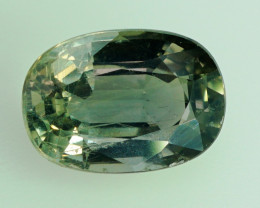 2.18 ct  Unheated  Natural Color Change Sapphire    - AIG Certified