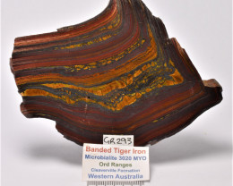 Banded Tiger IronMicrobialite,  Australia (GR