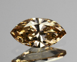 ~UNTREATED~ 0.15 Cts Natural Diamond Fancy Yellow Marquise Cut Africa