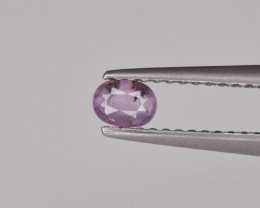 Natural Pink Sapphire 0.18 Cts from Afghanistan