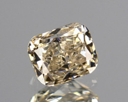0.15 Cts Untreated Natural White Diamond Cushion Cut Africa
