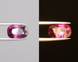 3.01Cts  Natural Red To Purple Garnet Gems